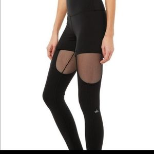 ALO Yoga Black High Waist Ignite Legging XXS